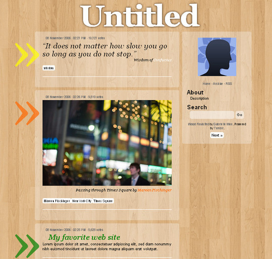 50 Elegant Free Tumblr Themes And Widgets For Blogging Experience 12