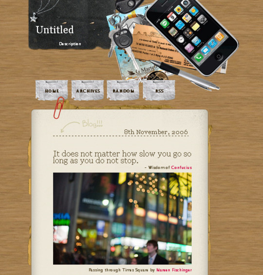 50 Elegant Free Tumblr Themes And Widgets For Blogging Experience 34