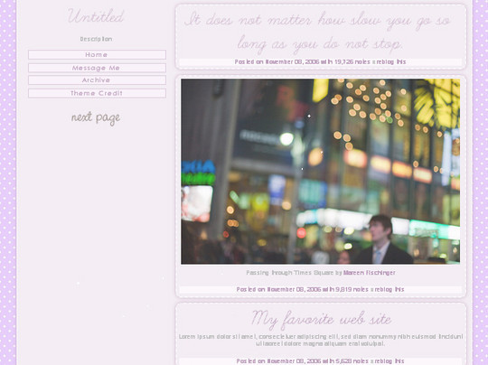 50 Elegant Free Tumblr Themes And Widgets For Blogging Experience 41