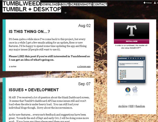 50 Elegant Free Tumblr Themes And Widgets For Blogging Experience 43