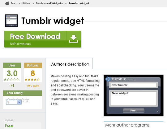 50 Elegant Free Tumblr Themes And Widgets For Blogging Experience 45