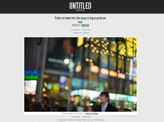 50 Elegant Free Tumblr Themes And Widgets For Blogging Experience 19