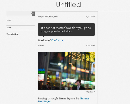 50 Elegant Free Tumblr Themes And Widgets For Blogging Experience 20