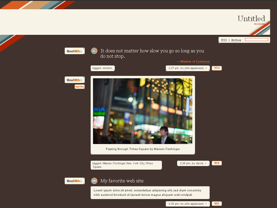 50 Elegant Free Tumblr Themes And Widgets For Blogging Experience 21