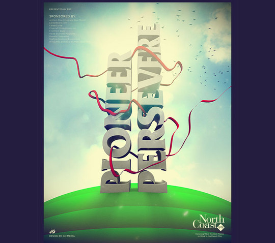 40 High Quality Typographic Poster Design Tutorials 11