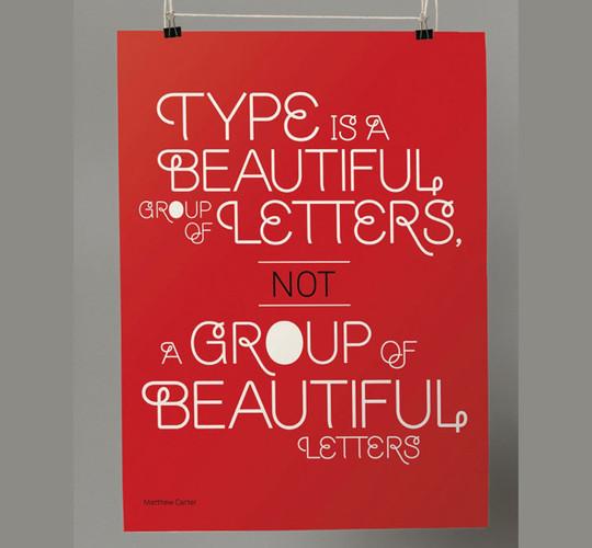 40 High Quality Typographic Poster Design Tutorials 33