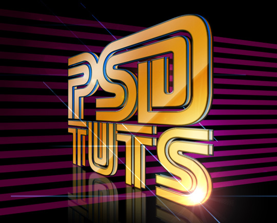 45+ Most Wanted Photoshop 3D Effects Tutorials 41