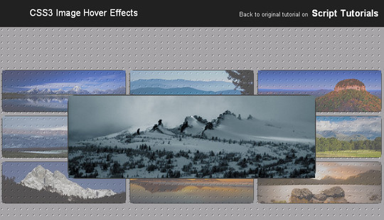 12 Free And Amazing CSS3 Image Hover Effects For Downloads 2