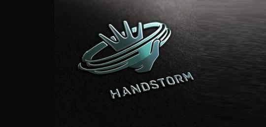 45+ Creative Hand Based Logo Designs For Inspiration 31