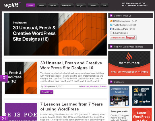 45 Excellent Professional Resources For Learning WordPress Development 4