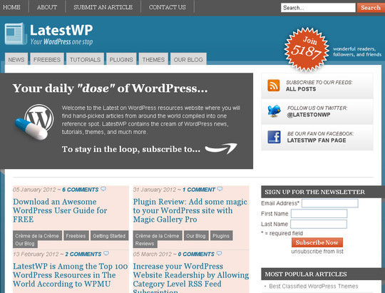 45 Excellent Professional Resources For Learning WordPress Development 5