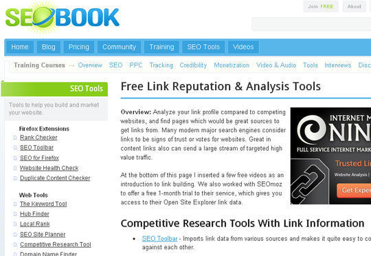 7 Free Link Building Online Tools To Check Link Popularity 6