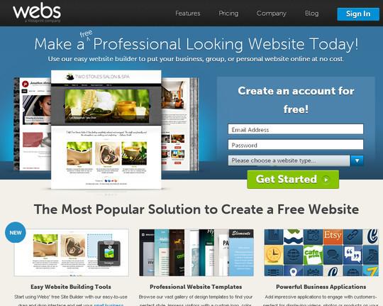 15 Free And Useful Online Website Builders 6