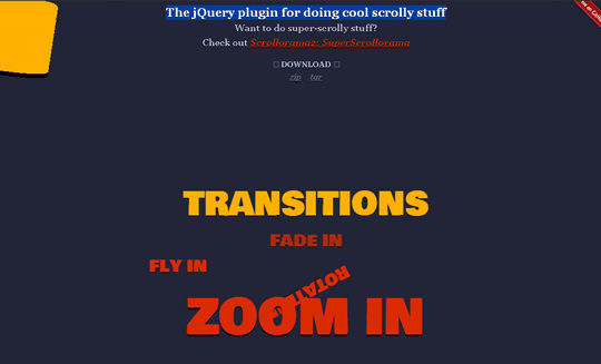 7 jQuery Plugins To Create Page Scrolling 4
