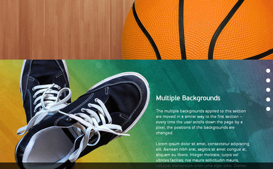 7 jQuery Plugins To Create Page Scrolling 2