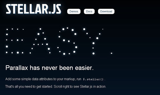 7 jQuery Plugins To Create Page Scrolling 7
