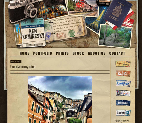 Retro And Vintage: 44 Classy Examples Of Web Designs 17
