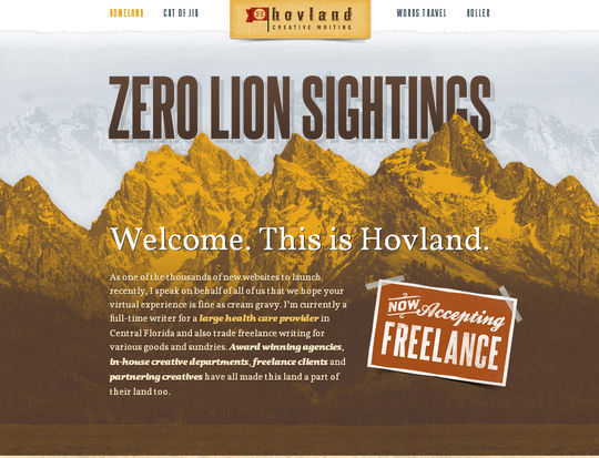 Retro And Vintage: 44 Classy Examples Of Web Designs 18