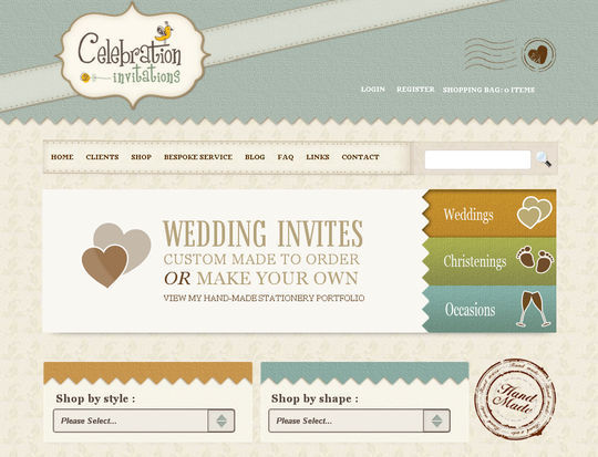 Retro And Vintage: 44 Classy Examples Of Web Designs 21