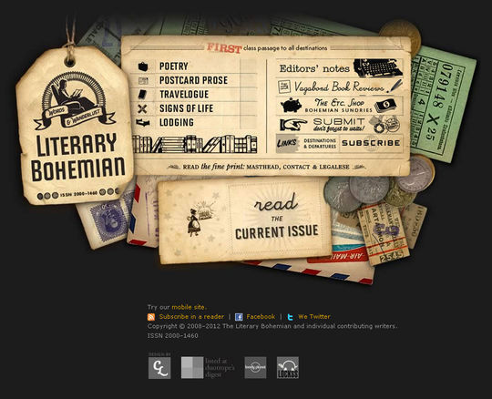 Retro And Vintage: 44 Classy Examples Of Web Designs 3