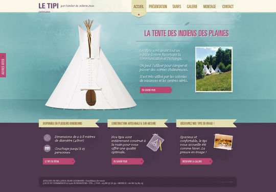 Retro And Vintage: 44 Classy Examples Of Web Designs 24