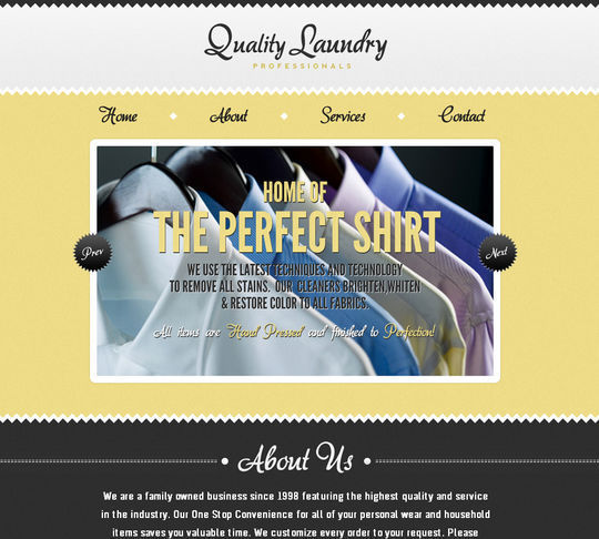 Retro And Vintage: 44 Classy Examples Of Web Designs 5