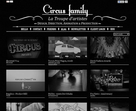 Retro And Vintage: 44 Classy Examples Of Web Designs 29