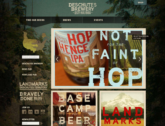 Retro And Vintage: 44 Classy Examples Of Web Designs 30