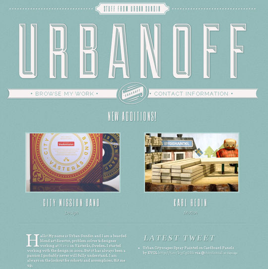 Retro And Vintage: 44 Classy Examples Of Web Designs 7