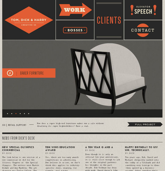 Retro And Vintage: 44 Classy Examples Of Web Designs 37