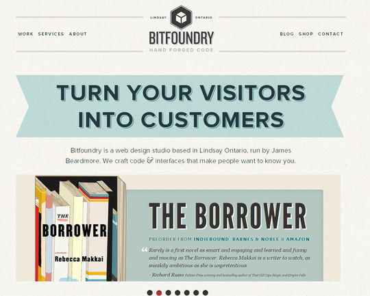 Retro And Vintage: 44 Classy Examples Of Web Designs 38