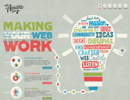 Retro And Vintage: 44 Classy Examples Of Web Designs 8