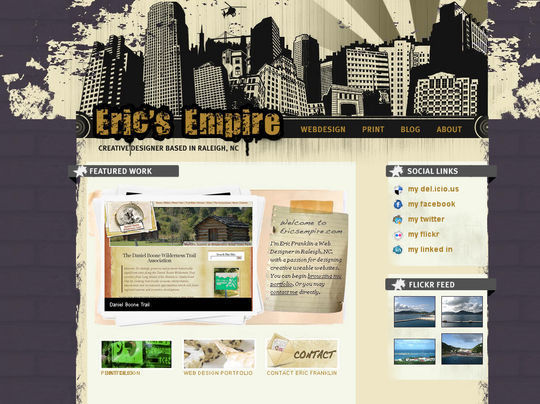 Retro And Vintage: 44 Classy Examples Of Web Designs 40