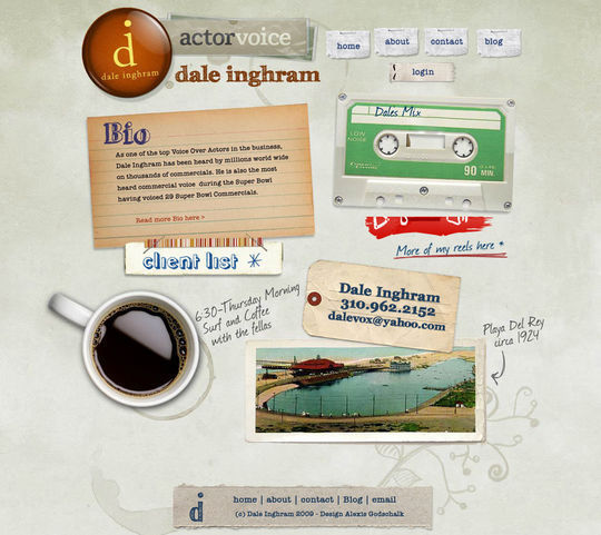 Retro And Vintage: 44 Classy Examples Of Web Designs 13