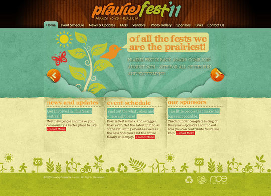 Retro And Vintage: 44 Classy Examples Of Web Designs 2