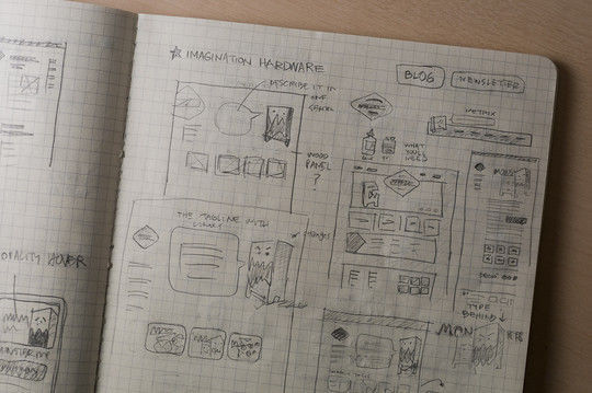 40 Examples Of Web Design Sketches And Wireframes 20