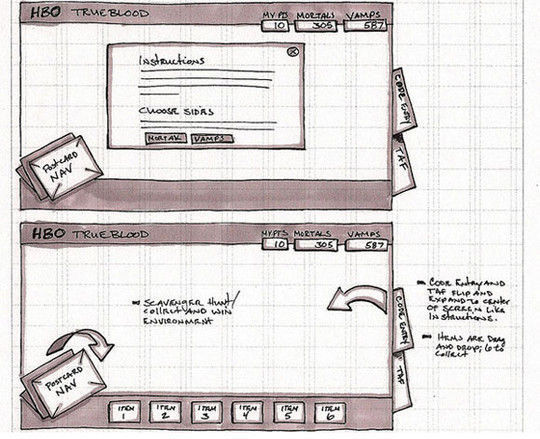 40 Examples Of Web Design Sketches And Wireframes 30
