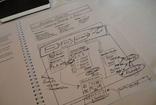 40 Examples Of Web Design Sketches And Wireframes 33
