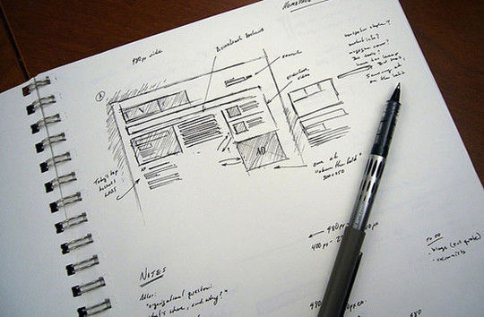 40 Examples Of Web Design Sketches And Wireframes 35