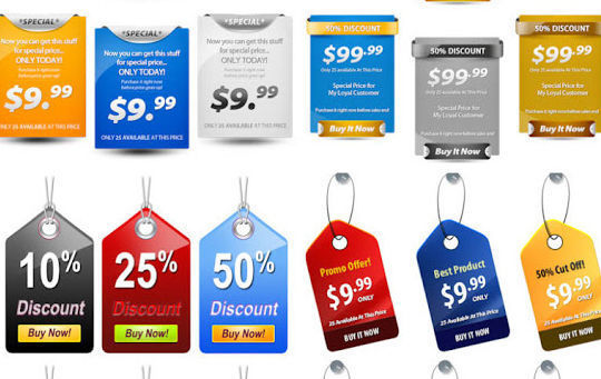 15 Free Price Sale And Discount Tags PSDs 11