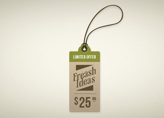 15 Free Price Sale And Discount Tags PSDs 1