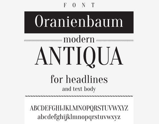 40 Fresh High-Quality Free Fonts For Your Designs 15