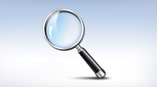 11 Free Magnifying Glass Search Icons (PSD) Set 5