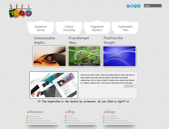 A Beautiful Collection Of Free HTML5 And CSS3 Templates 15