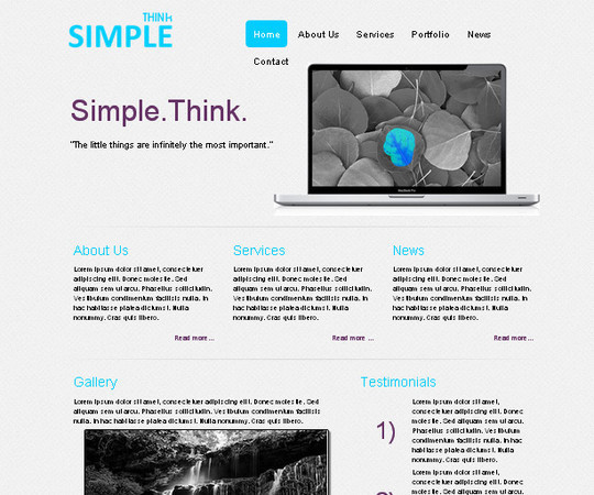 A Beautiful Collection Of Free HTML5 And CSS3 Templates 16
