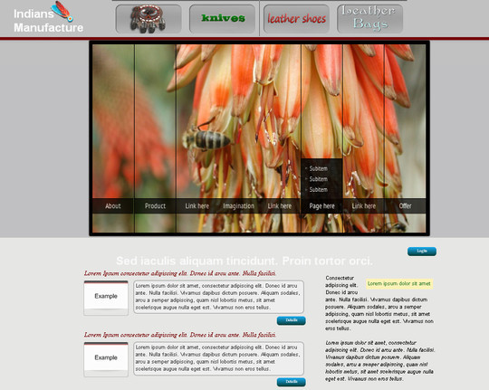 A Beautiful Collection Of Free HTML5 And CSS3 Templates 24
