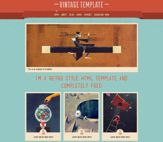 A Beautiful Collection Of Free HTML5 And CSS3 Templates 26