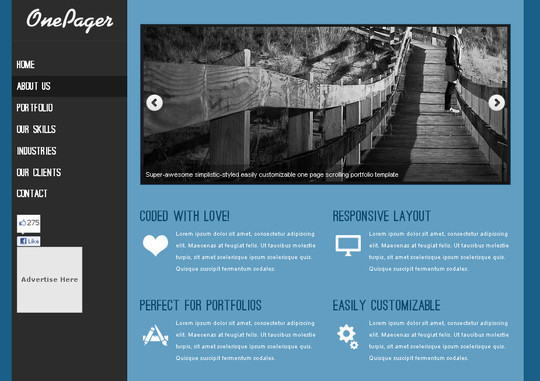 A Beautiful Collection Of Free HTML5 And CSS3 Templates 27