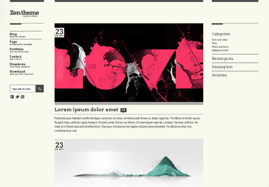 A Beautiful Collection Of Free HTML5 And CSS3 Templates 9