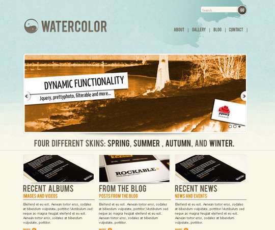 A Beautiful Collection Of Free HTML5 And CSS3 Templates 10